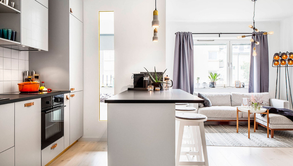 Redistribución de espacios pequeños